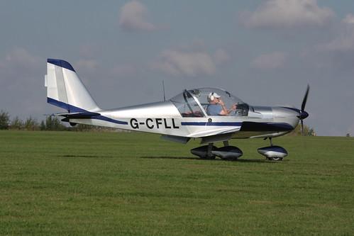 G-CFLL Evektor EV-97 [2008-3114 / LAA 315-14825] Sywell 020917