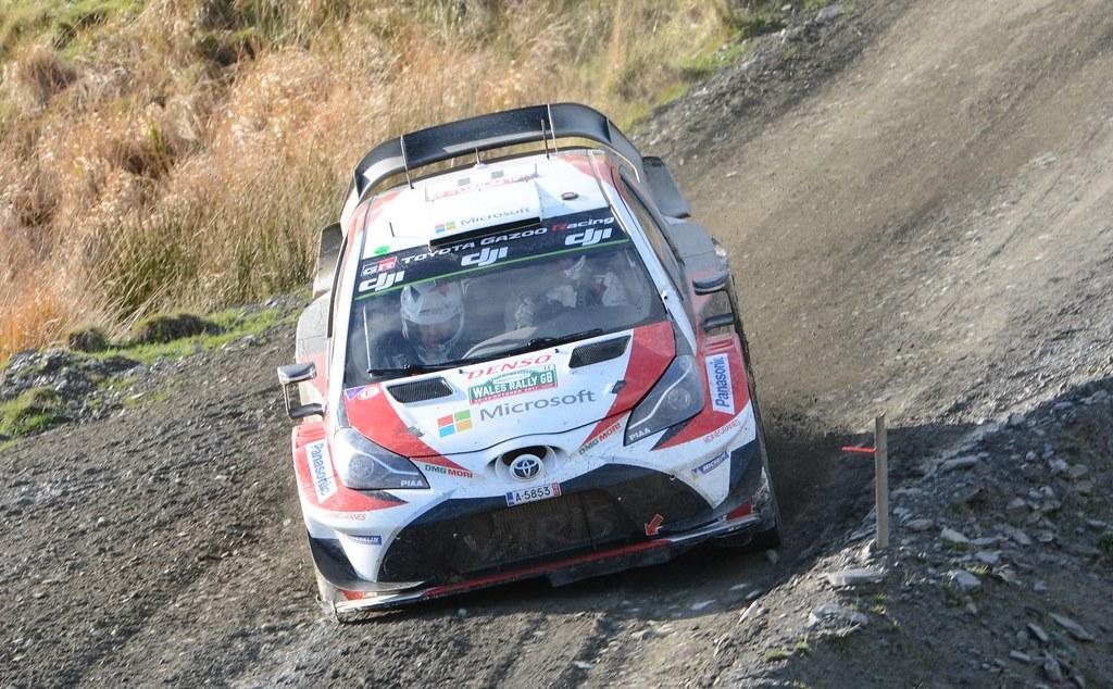 Toyota Yaris WRC - Hanninen