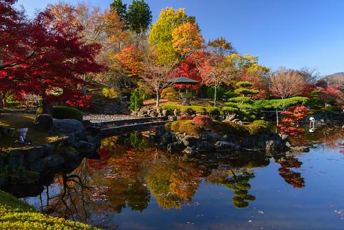 桜山公園001 桜山公園 紅葉 群馬県 sakurayamapark gunma autumnleaves reflection nature landscape japan 2017
