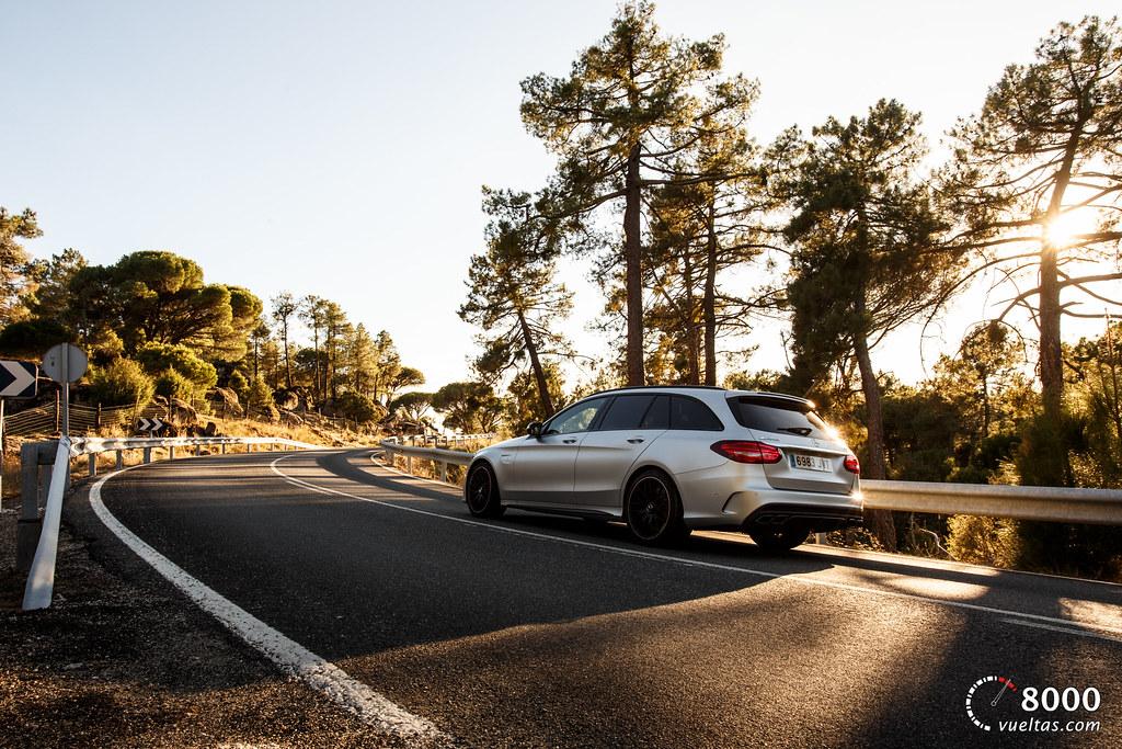 Mercedes C63 AMG S - 8000vueltas-15