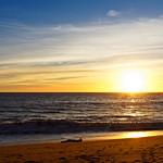 Sunset at Point Mugu