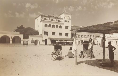 El Maricel,  on es va signar l'acta fundacional del CNC l'any 1967