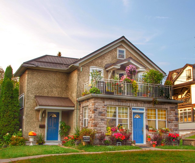 Brockville Ontario - Canada - Cottage Style Architecture - Heritage