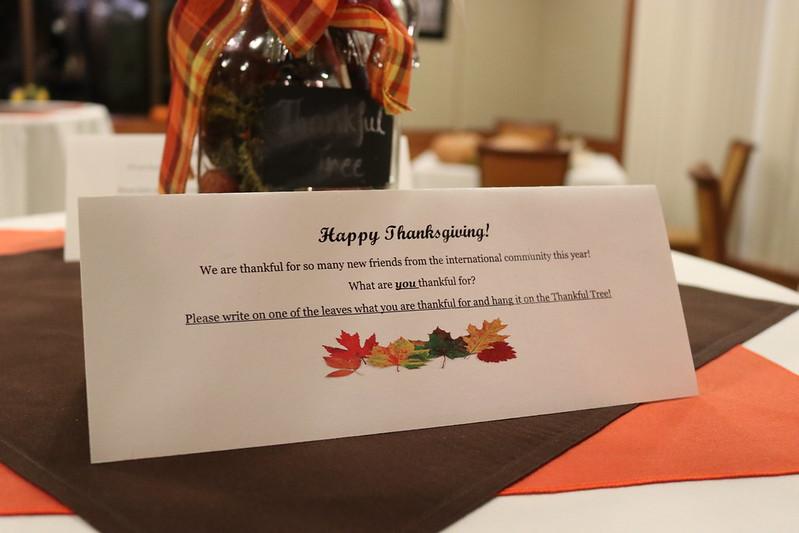 Graduate Thanksgiving Feast Celebration