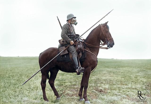 Bavarian Cheveauleger, circa 1917