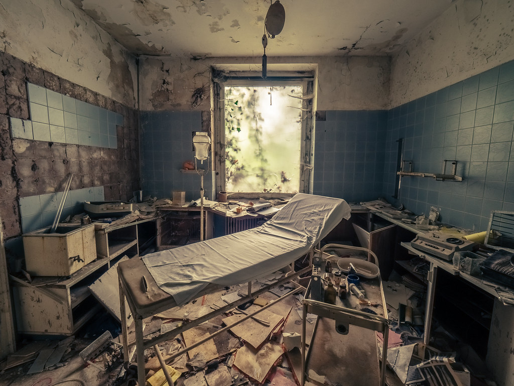 Abandoned private urology clinic | Yannick M  | Flickr