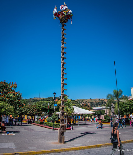 2017 - Mexico - Tequila - Pole Buskers (Voladores) - 1 of 2 | by Ted's photos - For Me & You