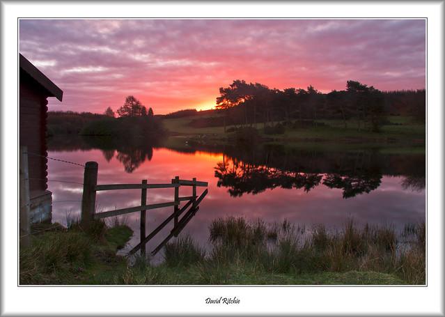 Pink Dawn At Knapps Loch
