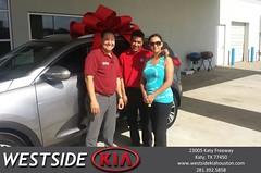 #HappyBirthday to Hubert from Leonardo Gutierrez at Westside Kia!