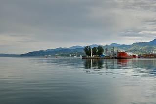 Batumi Port, Georgia   by -Marlon-