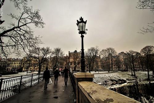 december riga latvia lettonia snow street travel discovery city cityscapes landscape sky oldcity vecriga dugava winter neve inverno balticstate natgeo natgeotravel geo