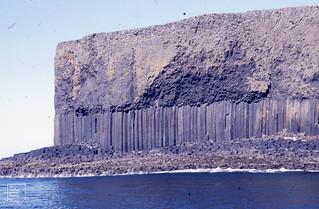 Approaching Staffa, 1987