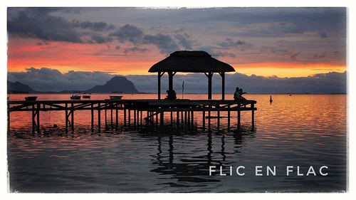 sunset sonnenuntergang mauritius ilemaurice flicenflac beach snapseed