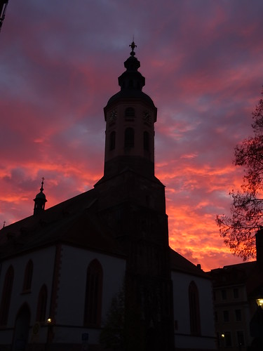 church badenbaden germany sunrise morning
