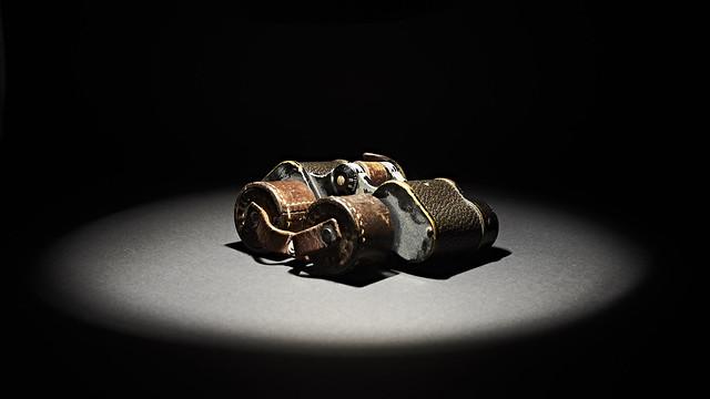 Old Swiss army binoculars