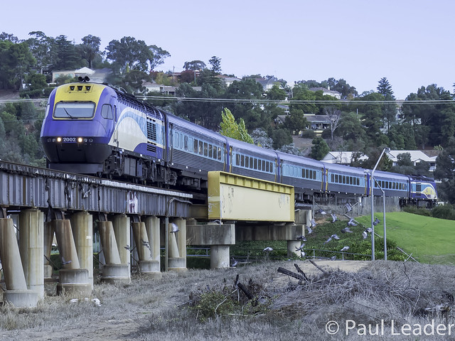 NSW Trainlink XPT engine XP2002 named