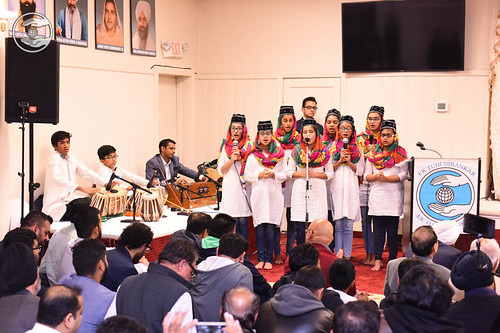 Welcome song by child devotees