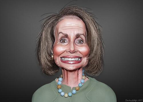 Nancy Pelosi - Caricature