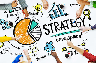 Strategy Development Goal Marketing Vision Planning Business Concept | by diendiweb