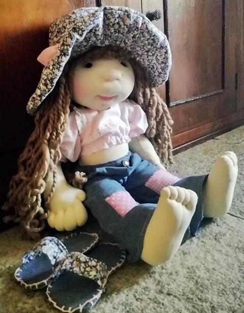 Sarah Kay 2.Mi segunda muñeca basada en la original
