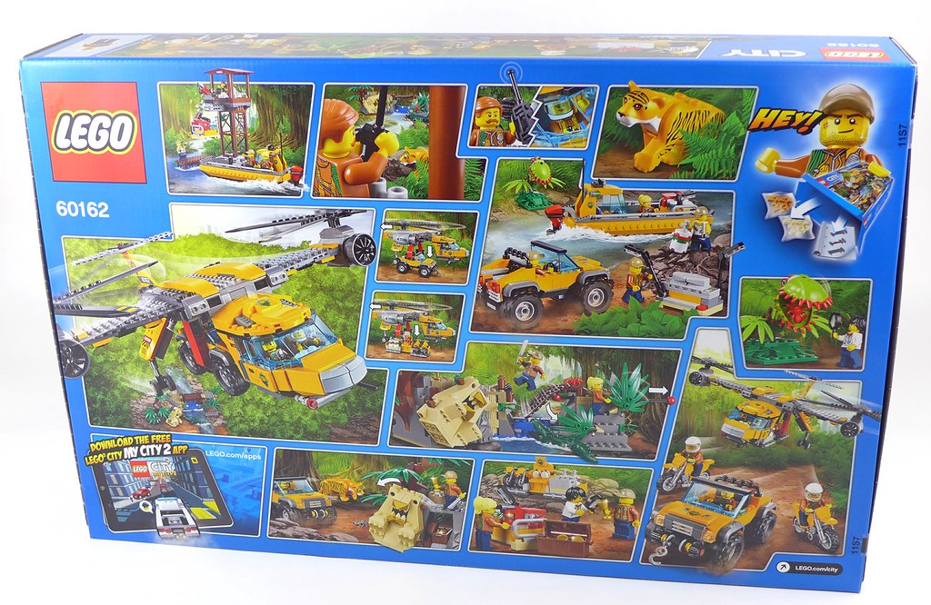 Lego City Jungle 60162 Jungle Air Drop Helicopter 002 Flickr