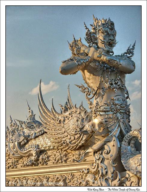 Wat Rong Khun - The White Temple of Chiang Rai 18