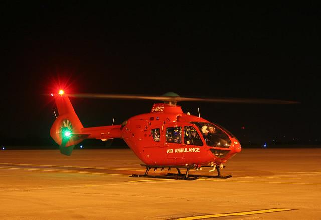 G-WASC EC-135T2 Wales Air Ambulance / Babcock International