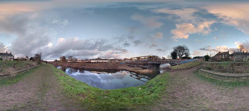 Freshwater - Tadcaster Bridge in December 2016