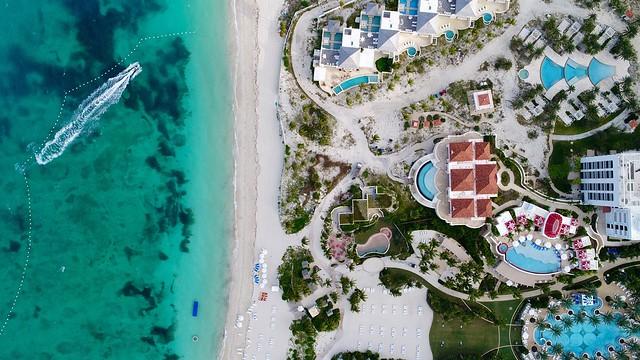 Baha Mar aerial view-Bahamas