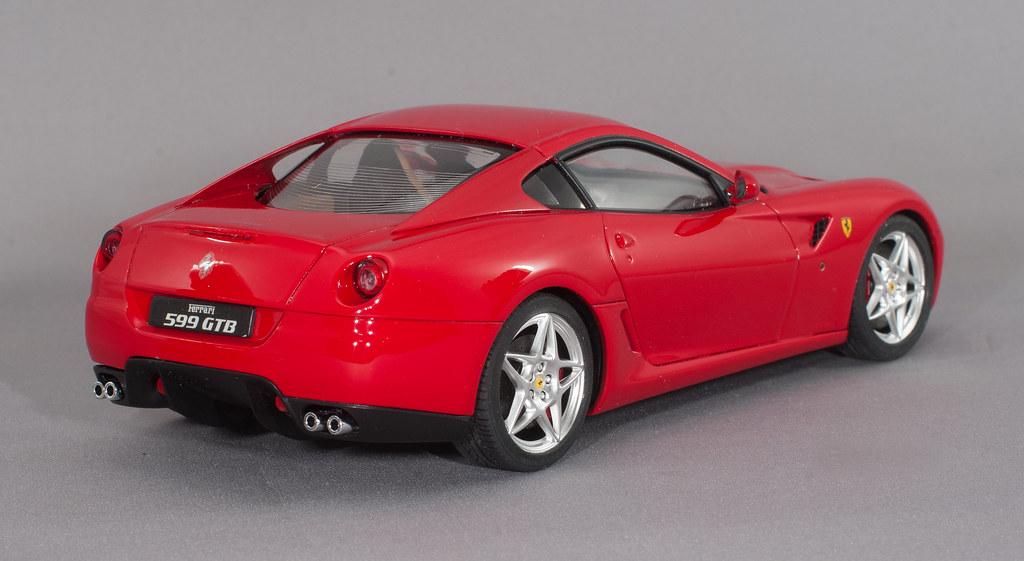 Ferrari Fiorano 599 Gtb 2 Fujimi 1 24 Scale Ferrari 599 Gt Flickr