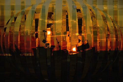 photoshopcc layers blending sunset sundown hastings fishingboat fishingstade