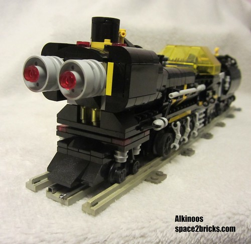 space train Blacktron p4