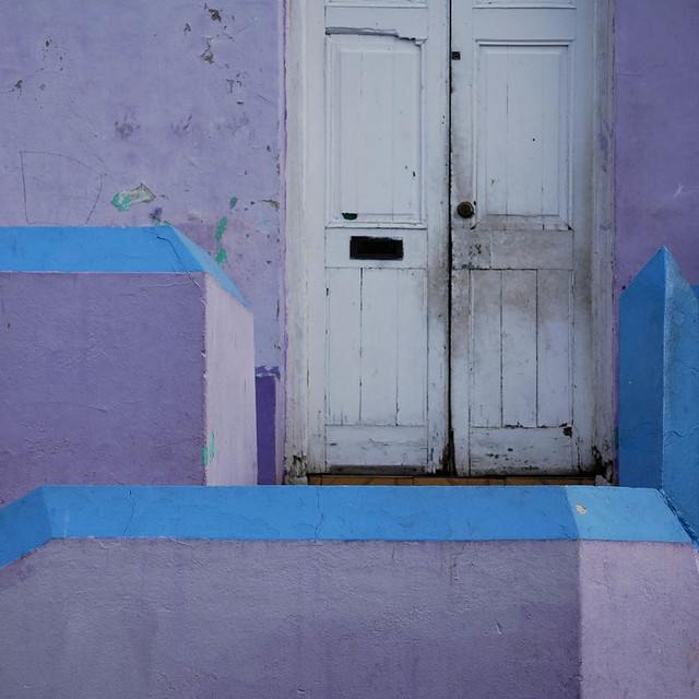 colours at the front door