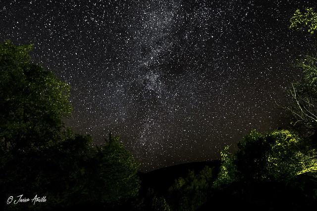 Manto de estrellas..
