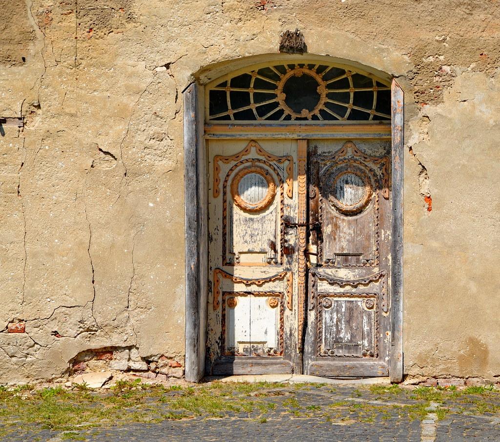 Tür Bei Schloss Und Gutsanlage Ludwigsburg In Vorpommern Flickr