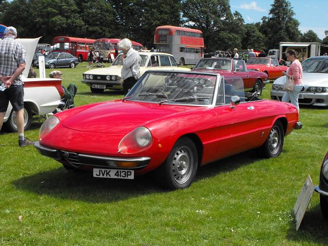 Alfa Romeo Spider - JVK 413P