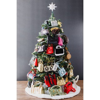 Image result for handbag christmas tree