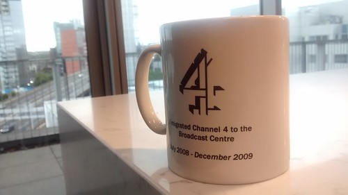 I migrated Channel 4 to the Broadcast Centre