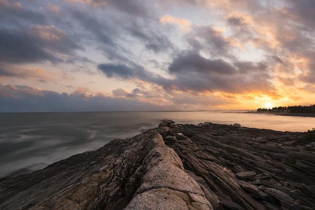 Pemaquid Point Sunset