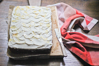 Sweet Potato Cake w Cane Syrup Cream Cheese Frosting #SwansDownPartner | by Erika-SouthernSouffle