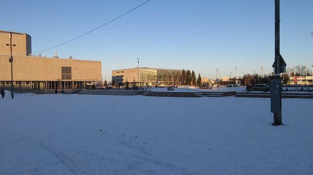 Nieve en Oulu