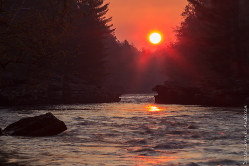 banningstatepark dragonstoothrapids kettleriver minnesota forest goldenhour landscape river seasons spring sunrise trees water
