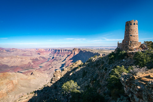 Desert View Watertower at the Grand Canyon | by Vironevaeh