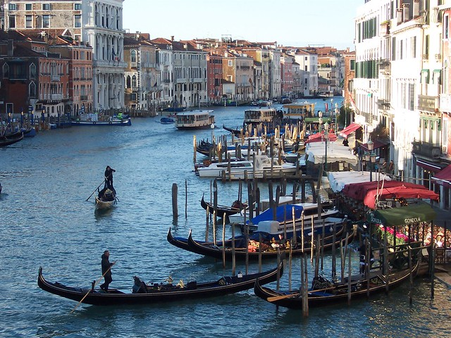The Grand Canal, from the Rialto Bridge