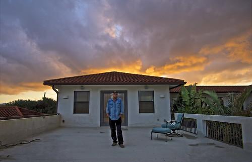 arloguthrie sunset nikond810 afsnikkor1635mmf4gedvr florida crabhouse selfportrait thecrabhouse