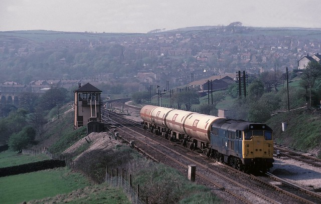 Freight at New Mills S junc