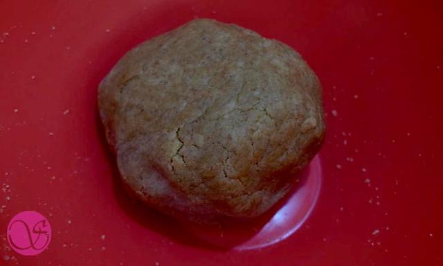 Homemade Atta Biscuits Dough ball