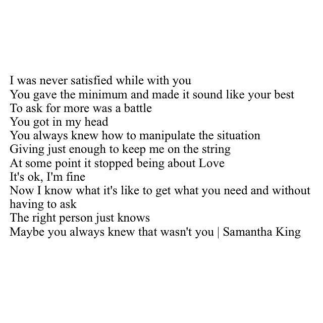 Sad Love Quotes Instagram Photo By Samantha Scheider Kin Flickr