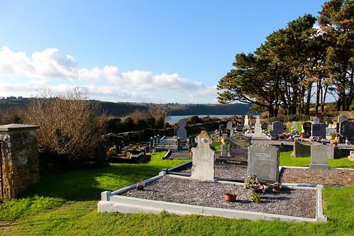 ballyhack cemetery graveyard stones view trees htmt treemendoustuesday riverbarrow