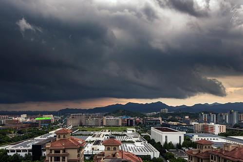 china chine asia asie asian asien asiatique orage storm thunderstorm hangzhou city landscape cityscape landschaft stadt chinese world weather paysage orageux clouds cloud nuages nuage météo meteo wetter apocalypse bad sky skies ciel
